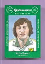 Norwich City Kevin Reeves 11 (JD)